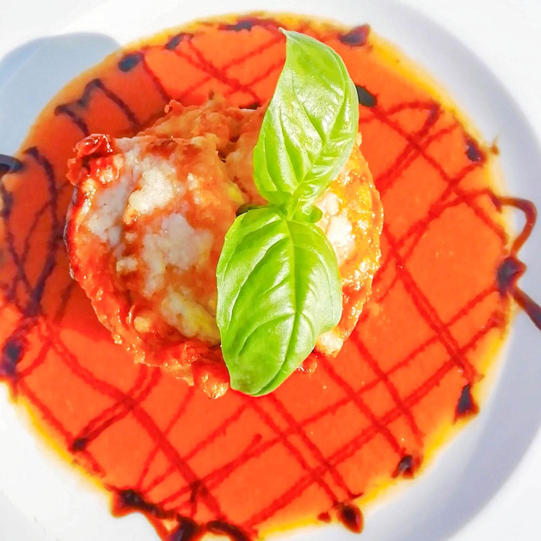 Parmigiana di melanzane del Ristorante Verso Piazza Castello | Conversano